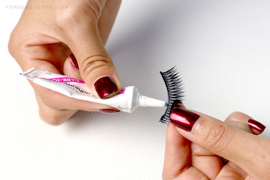How To Apply False Eyelashes - From Head To Toe