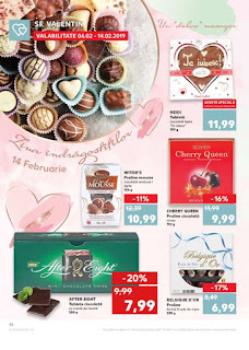 CATALOG KAUFLAND 6 - 12 februarie 2019  reduceri valentines days
