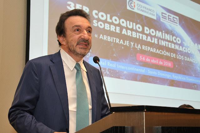 Joan Giancinti, Presidente de la Cámara de Comercio e Industria Domínico Francesa - CCI Franco Dominicana