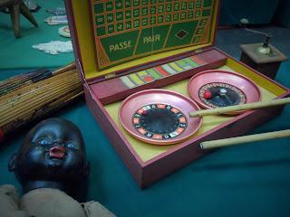 juego de ruleta frances en el desembalaje de bilbao