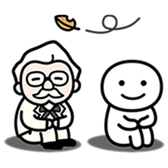 The Colonel's Limited Edition Stickers 3
