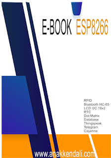 Download Ebook Tutorial ESP8266 Modul IOT www.anakkendali.com