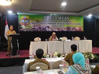 Sekretaris DKP Provinsi Jambi Buka Pertemuan Sinkronisasi Operasional Kegiatan Ketahanan Pangan Provinsi Jambi.