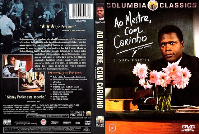 Capa DVD Ao Mestre, Com Carinho