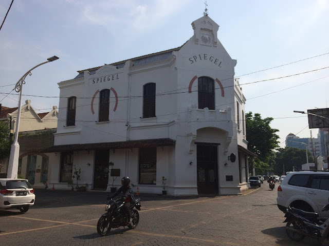 Taman Srigunting Kawasan Kota Lama Semarang