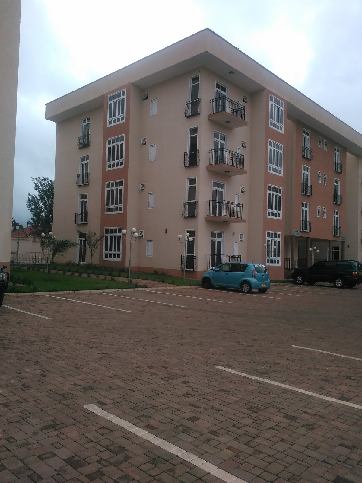 Attractive The Apartment Compound Has Large Garden And Parking Area. The Apartments  Units For Sale Compound Has Large Standby Generator For Back Up If TANESCO  ...