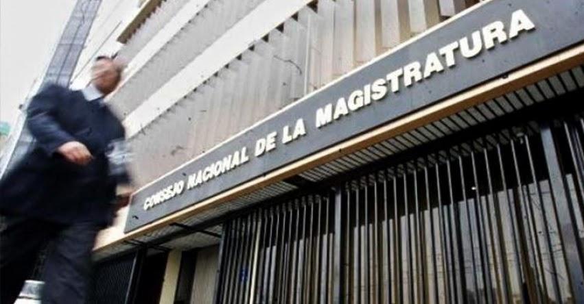 Jueces y fiscales deberán presentar declaración jurada de no estar afiliado a una organización política, informó el Consejo Nacional de la Magistratura - CNM