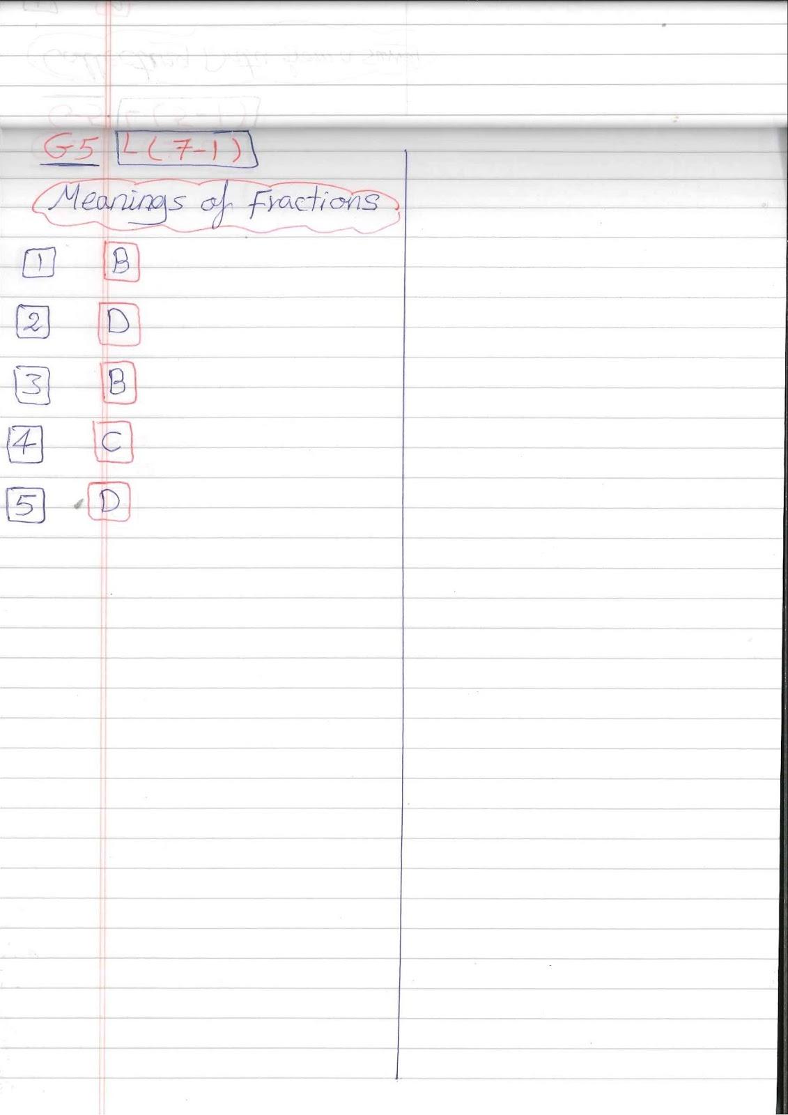 G5 Worksheets Easy Math