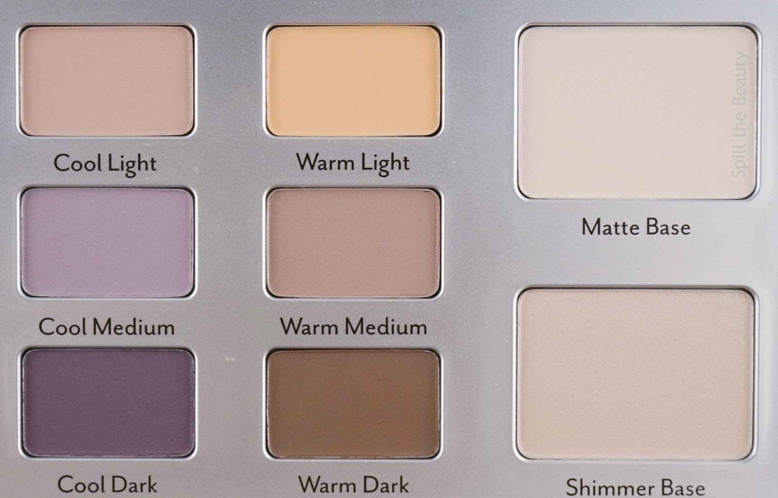 Cargo Eye Contour Eye Shadow Palette review swacthes look
