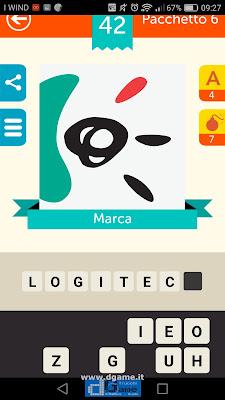 Iconica Italia Pop Logo Quiz soluzione pacchetto 6 livelli 42-100