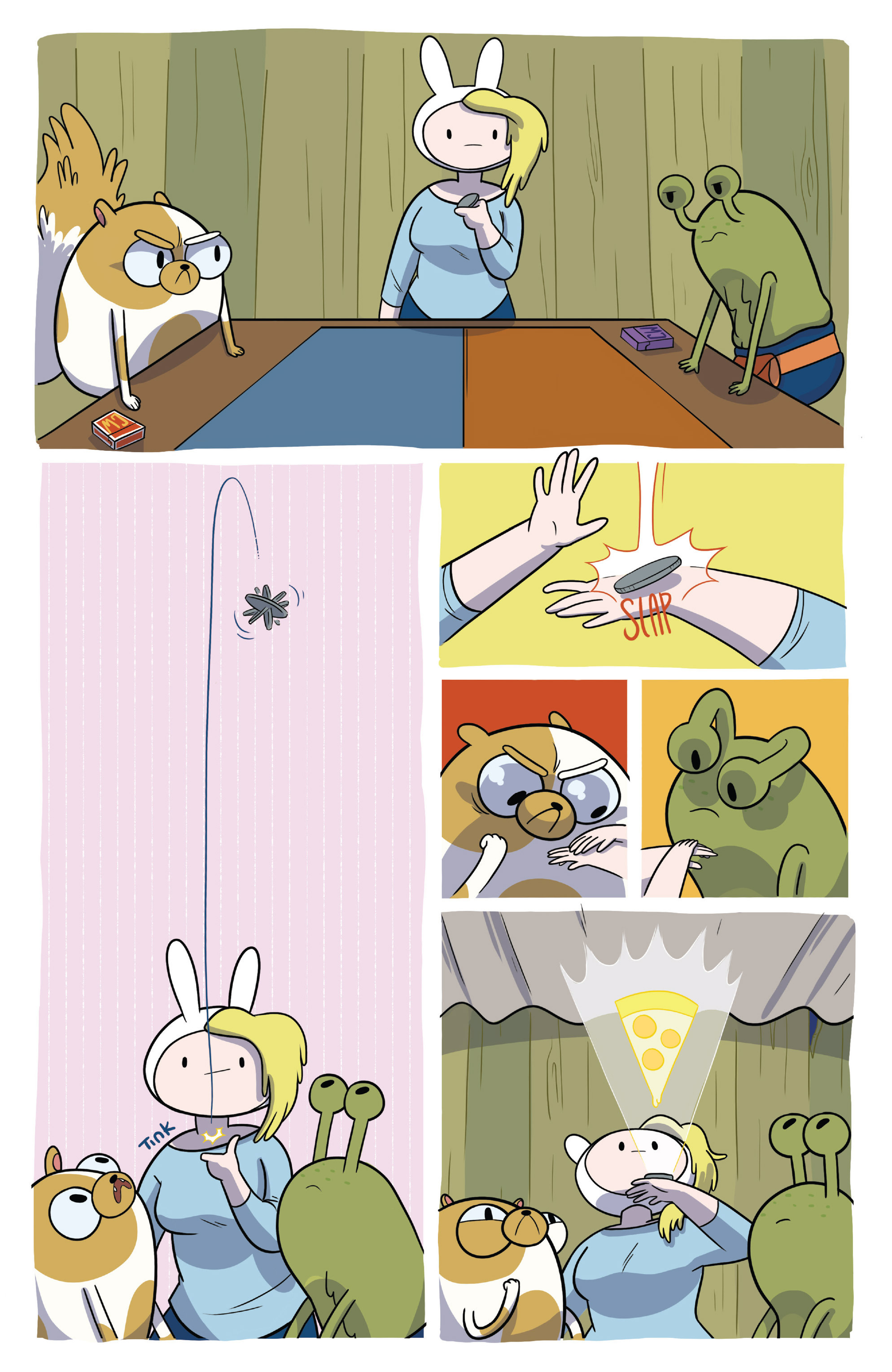 Read online Adventure Time Fionna and Cake Card Wars comic -  Issue #2 - 11