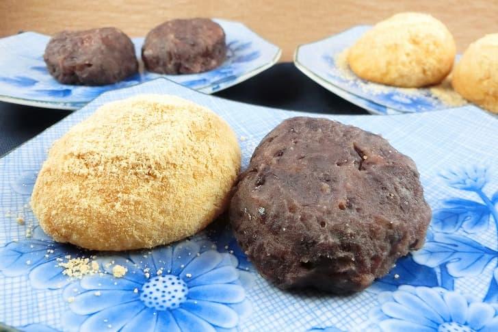 炊飯器で作るおはぎ もち米とうるち米の割合と水の量が決め手 銀