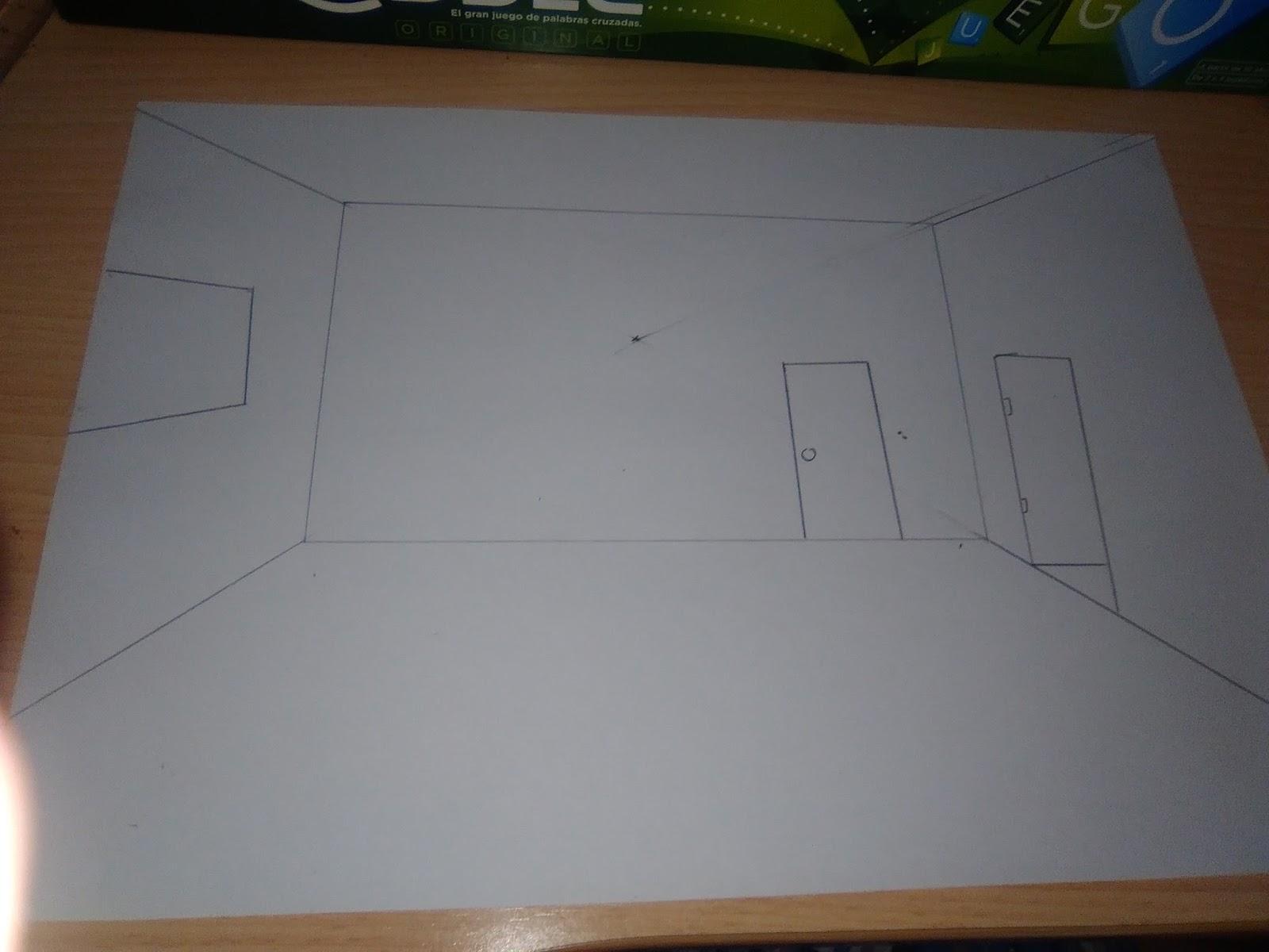 Dibujos De Aleix Como Dibujar La Perspectiva De Una Habitaci N  # Muebles Punto Paso
