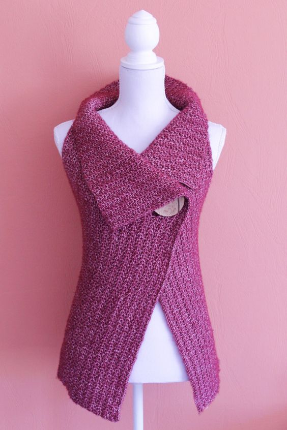 Chaleco de crochet
