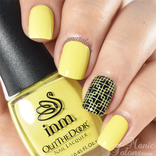 INM Out The Door Nail Lacquer Bananigans Swatch