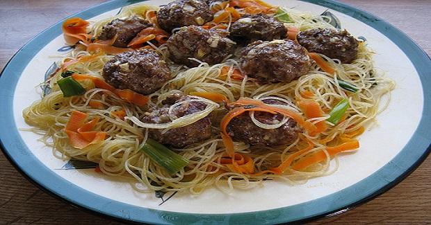 Asian Meat Ball Recipe