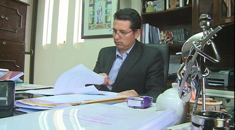El presidente del Consejo de la Magistratura, Wilber Choque, confirmó el instructivo judicial