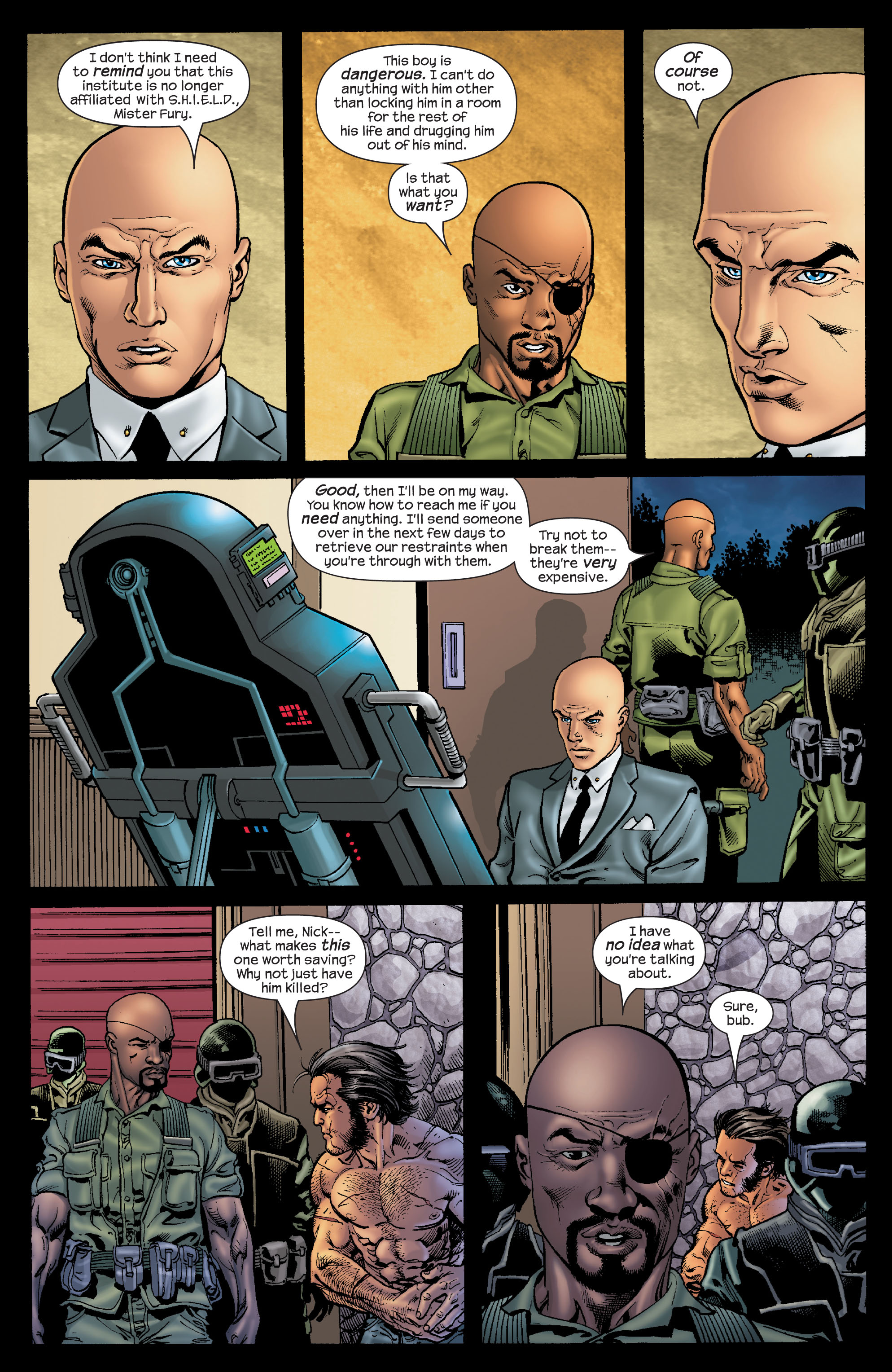 Read online Ultimate X-Men comic -  Issue #68 - 20