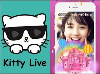 Kitty Live Aplikasi live streaming Populer