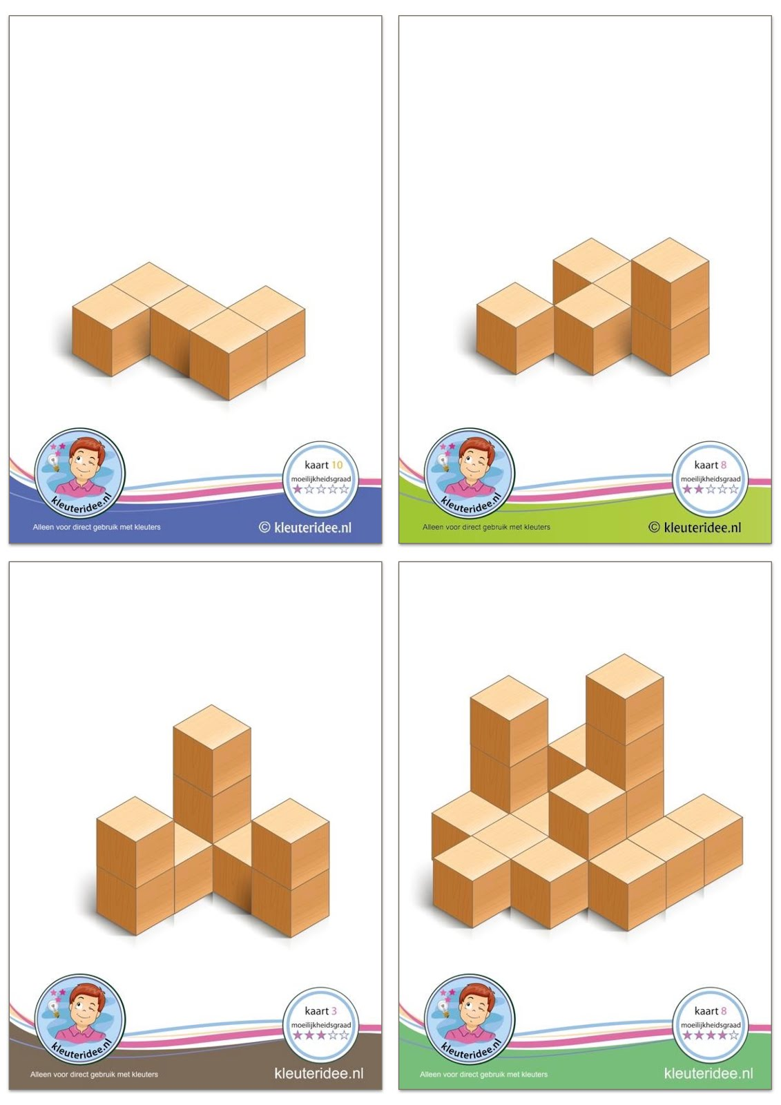 Visual Learning For Life Building Blocks