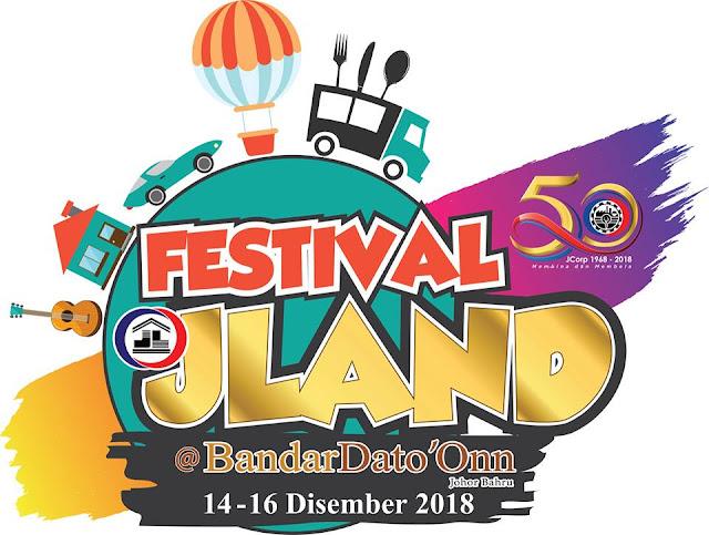 MENARIKNYA FESTIVAL JLAND 2018 @BANDAR DATO' ONN