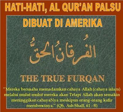 Astaghfirullah, Al Quran Palsu Buatan Amerika Kini Beredar Di Dunia Maya