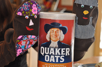 Open a Box of Quaker Oats