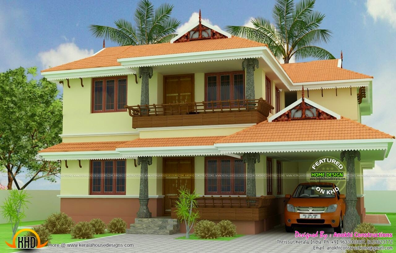 house model kerala - 38+ Small New Model House Design Pictures