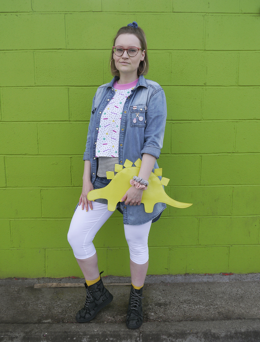 90's Nickelodeon Clarissa Explains It All style with blogger wardrobe conversations