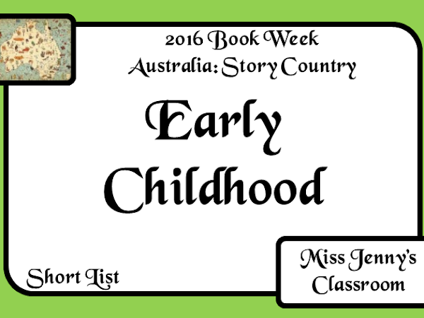 Book Week 2016: Short List for Early Childhood
