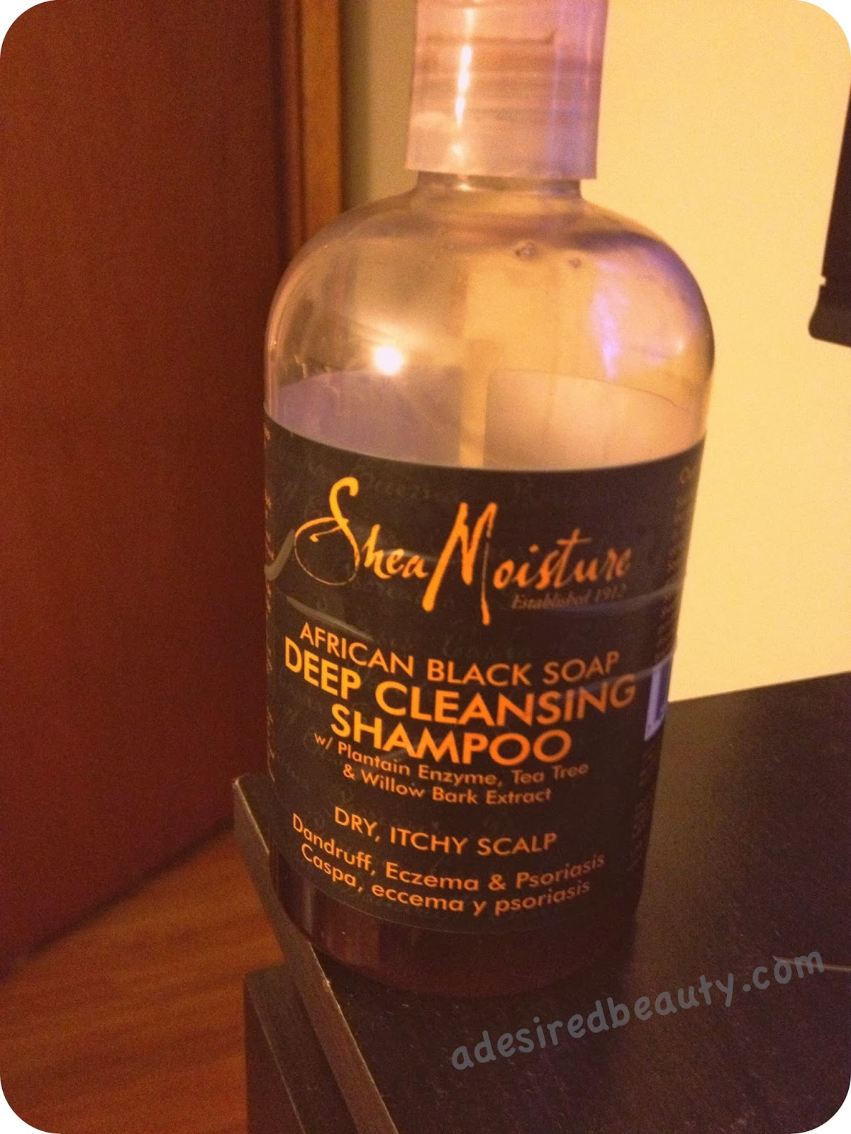 Product Review: Shea Moisture African Black Soap Deep ...