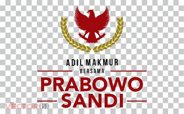 Logo Kampanye Prabowo-Sandi Capres 02 Adil Makmur - Download Vector File PNG (Portable Network Graphics)