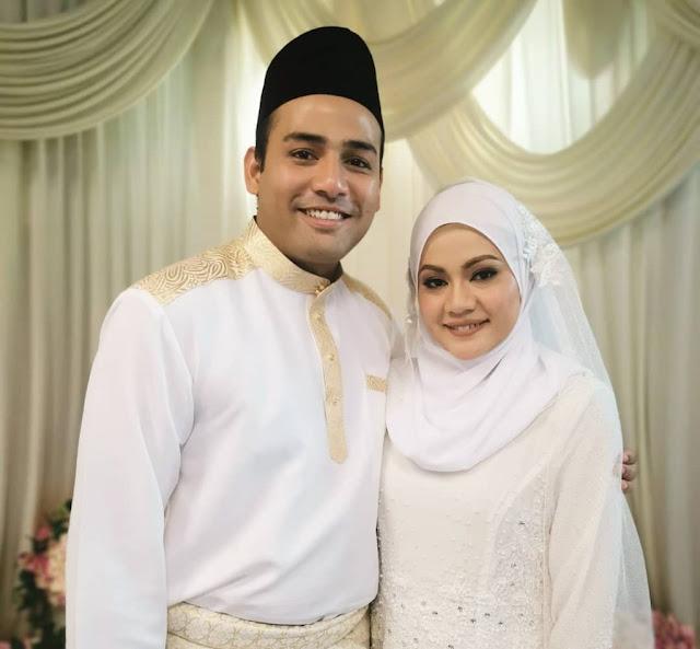 Afiq Muiz dan Pachara Apin berkahwin