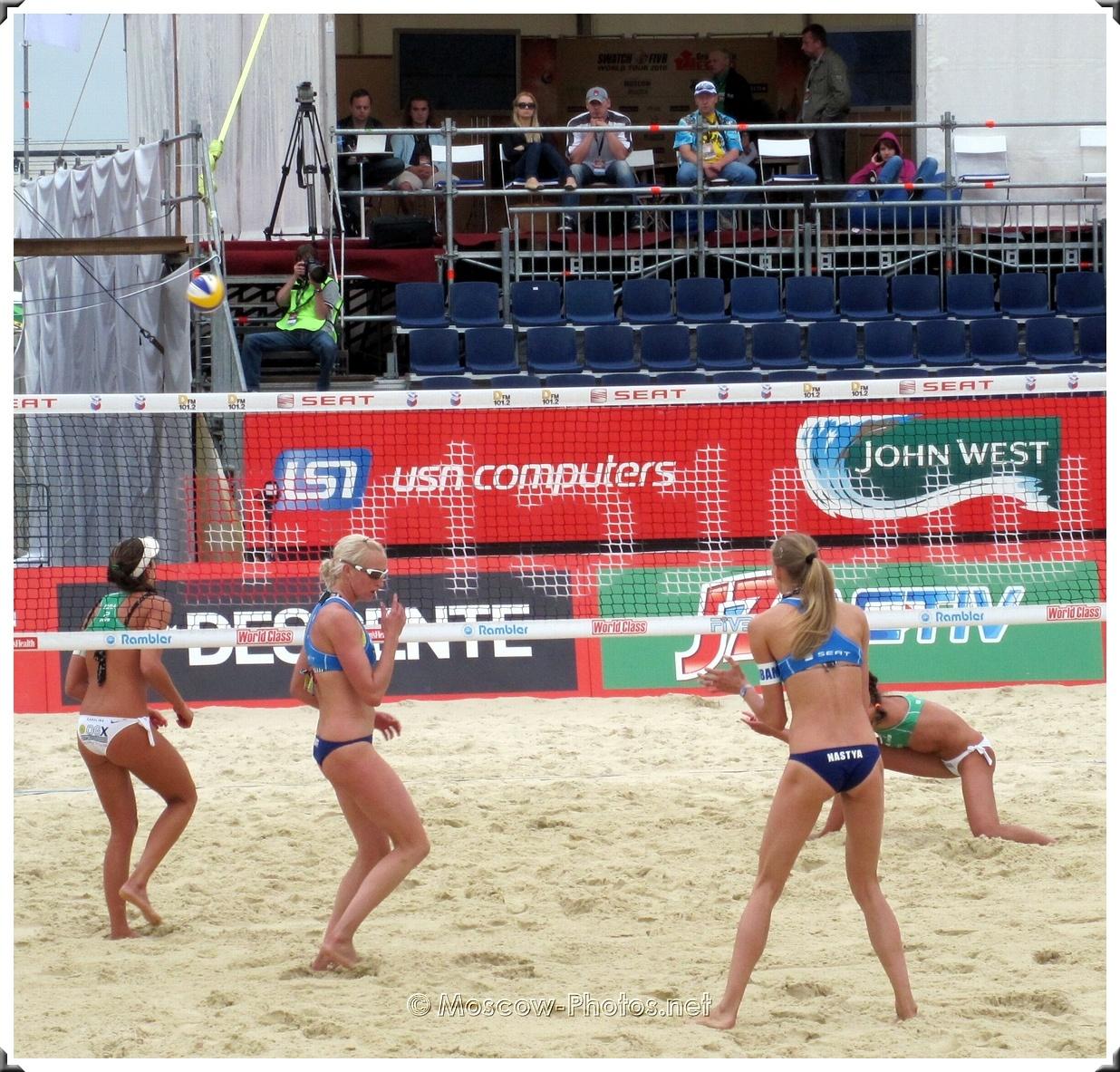 Moscow Grand Slam Beach Volleyball World Tour 2010