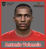PES 2016 Manchester United Minifacepack by Ozy_96 PESMOD