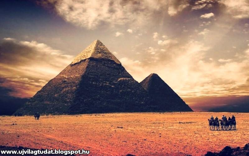 gyakorolja a piramislátást