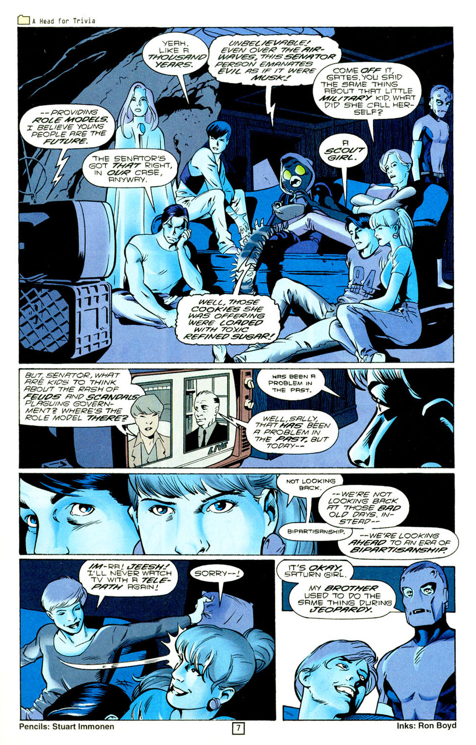 Legion of Super-Heroes (1989) 94 Page 7