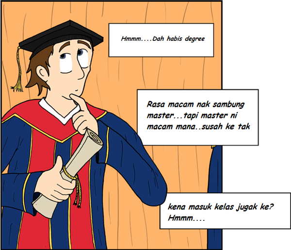 Dilema sambung master atau kerja?