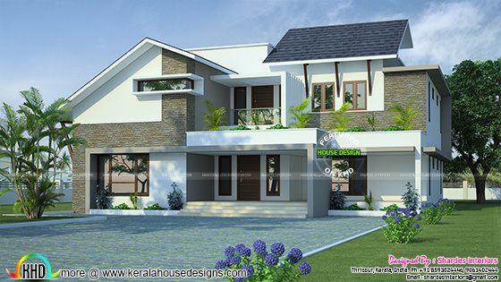 Grand modern residence