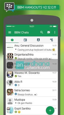 BBM Mod Hangout Apk 2.12.0.11 Free Download