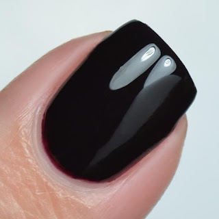 oxblood creme nail polish