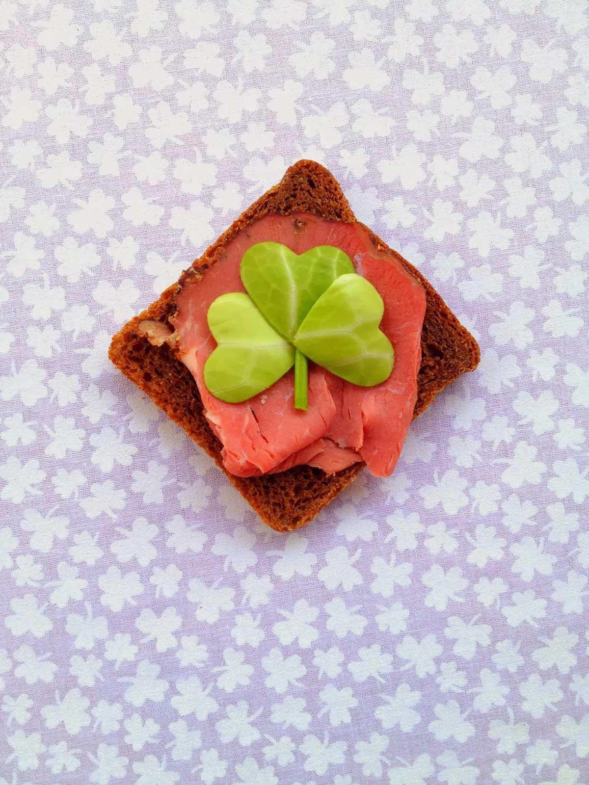 St. Patrick's Day Corned Beef & Cabbage appetizer