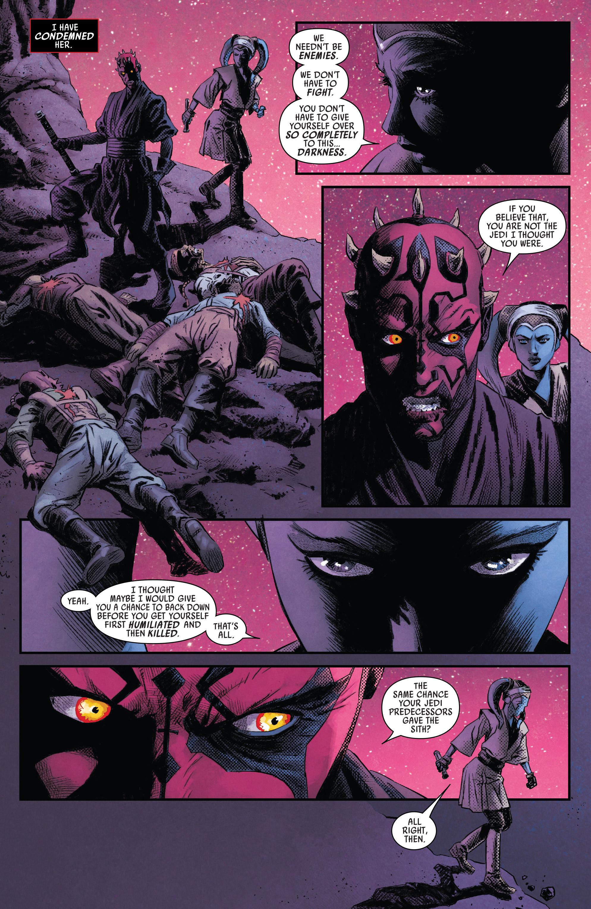 Read online Darth Maul comic -  Issue #4 - 20