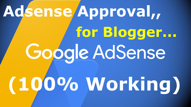 1 day blogger Adsense approval tricks 2019 [100% working]