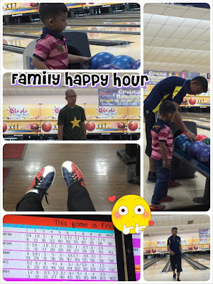 happy hour, family happy hour, bowling keluarga