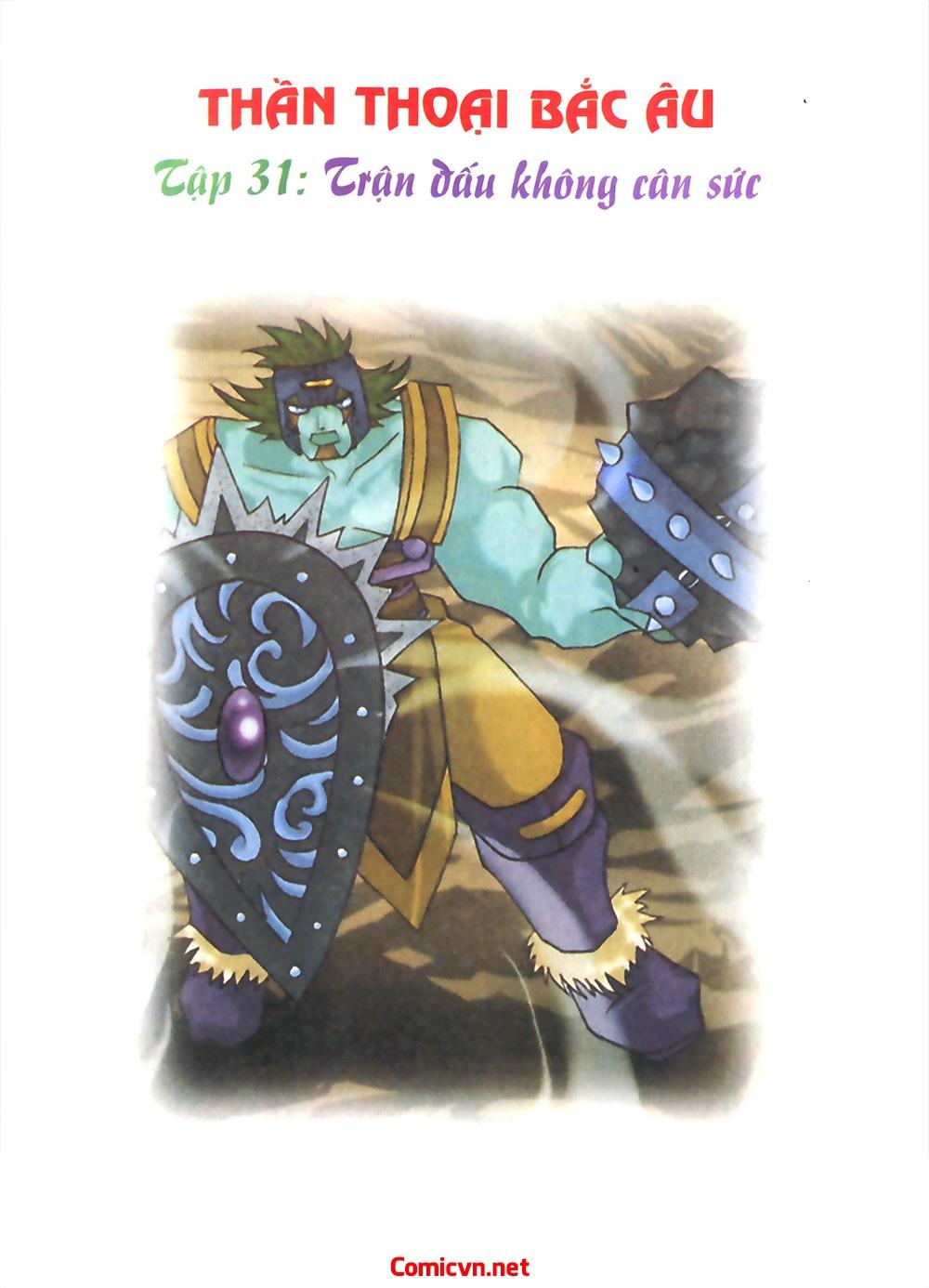 Thần thoại Bắc Âu - Chapter 31: Trận chiến không cân sức - Pic 2