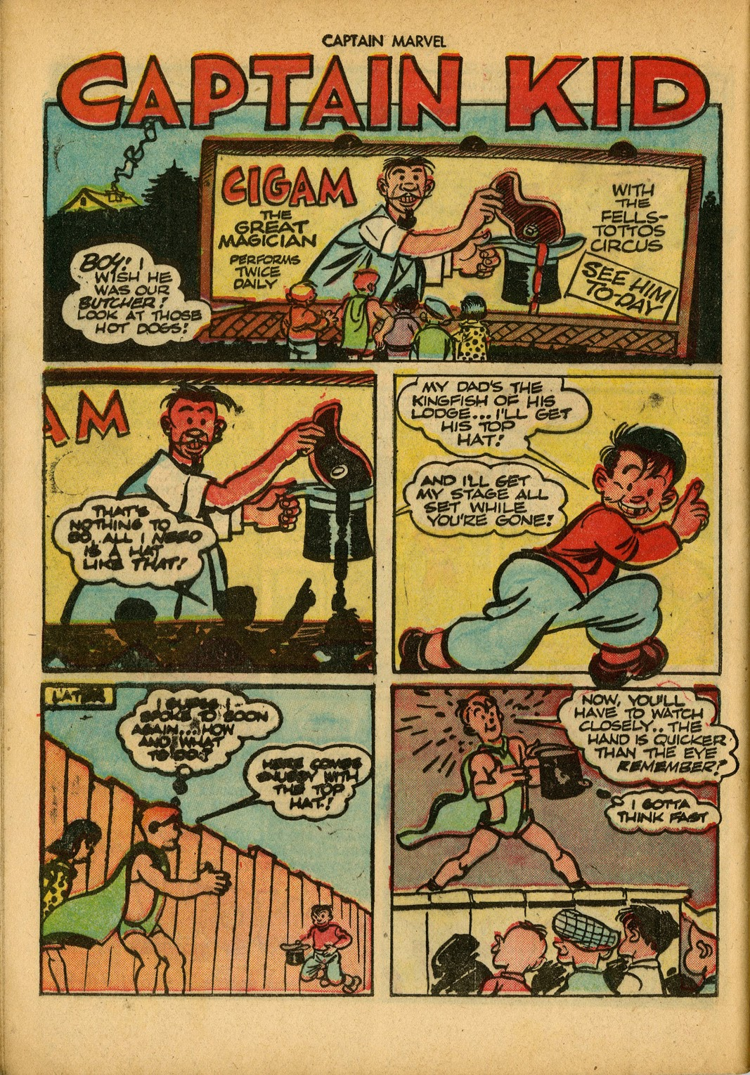 Captain Marvel Adventures issue 34 - Page 48