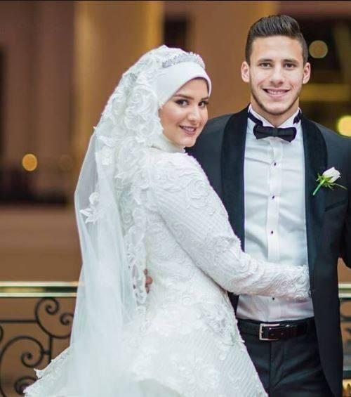 رمضان وحبيبة عريس وعروسة