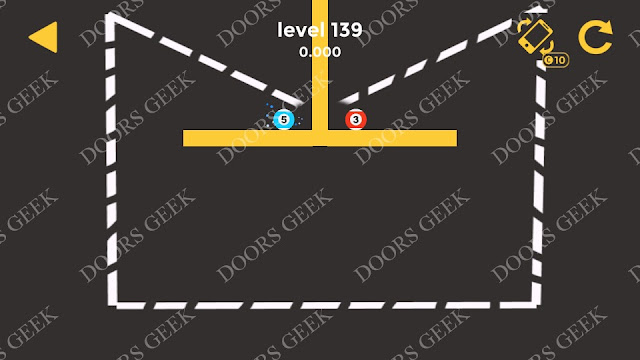 Ball & Ball Level 139 Solution, Walkthrough, Cheats for android and ios