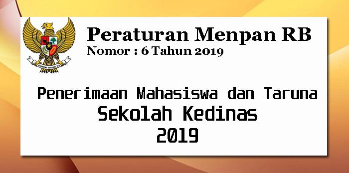 Permenpan RB Nomor 6 Tahun 2019